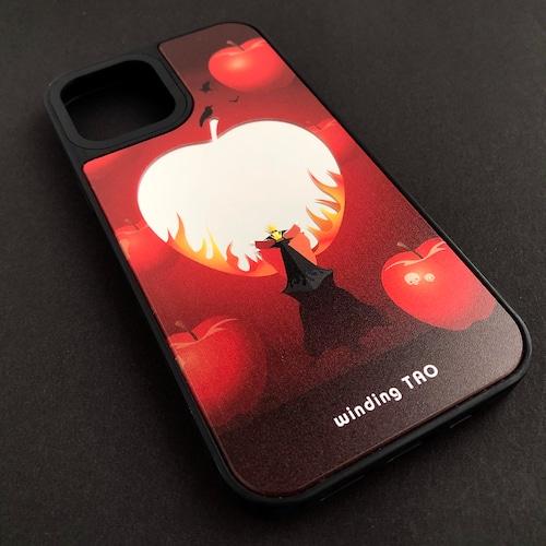 女王と毒リンゴの鏡 ミラーケース[iPhone12対応](大きいサイズ)〈物語シリーズ〉