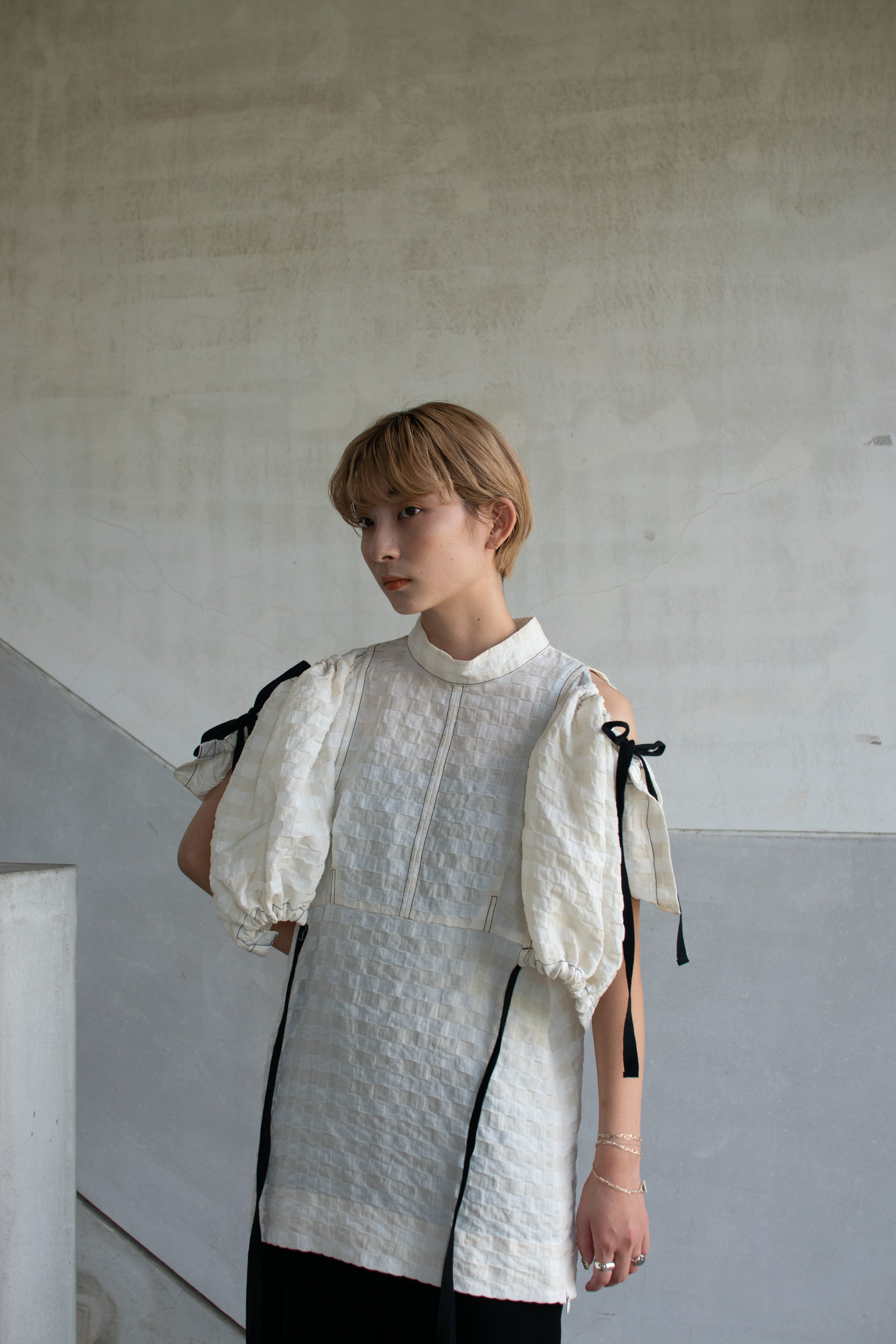【予約】AKIKOAOKI Handkerchief TOP-01