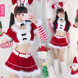 3575クリスマス衣装 レディース  コスプレ衣装 コスチューム 仮装 衣装 サンタ Xmas 赤 緑