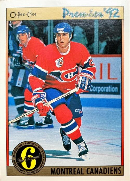 NHLカード 91-92 O-PEE-CHEE MONTREAL CANADIENS チームカード  #157