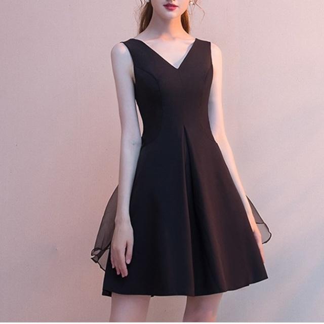 レース フレア 大人 キャバドレス キャバ ドレス 黒 フレアドレス ミニドレス ブラック キャバ キャバ嬢 キャバクラ ドレス キャバ ワンピース ノースリーブ  aライン 韓国
