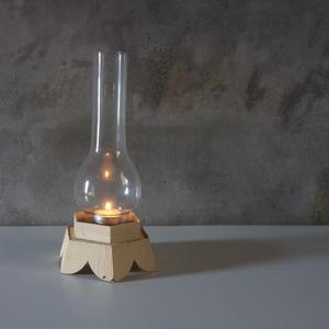 ホヤガラスの燭台