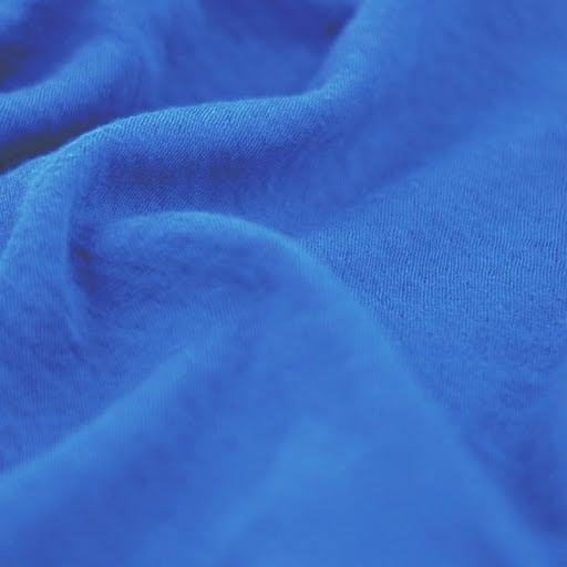 ハンカチ [H-03] 青×黄