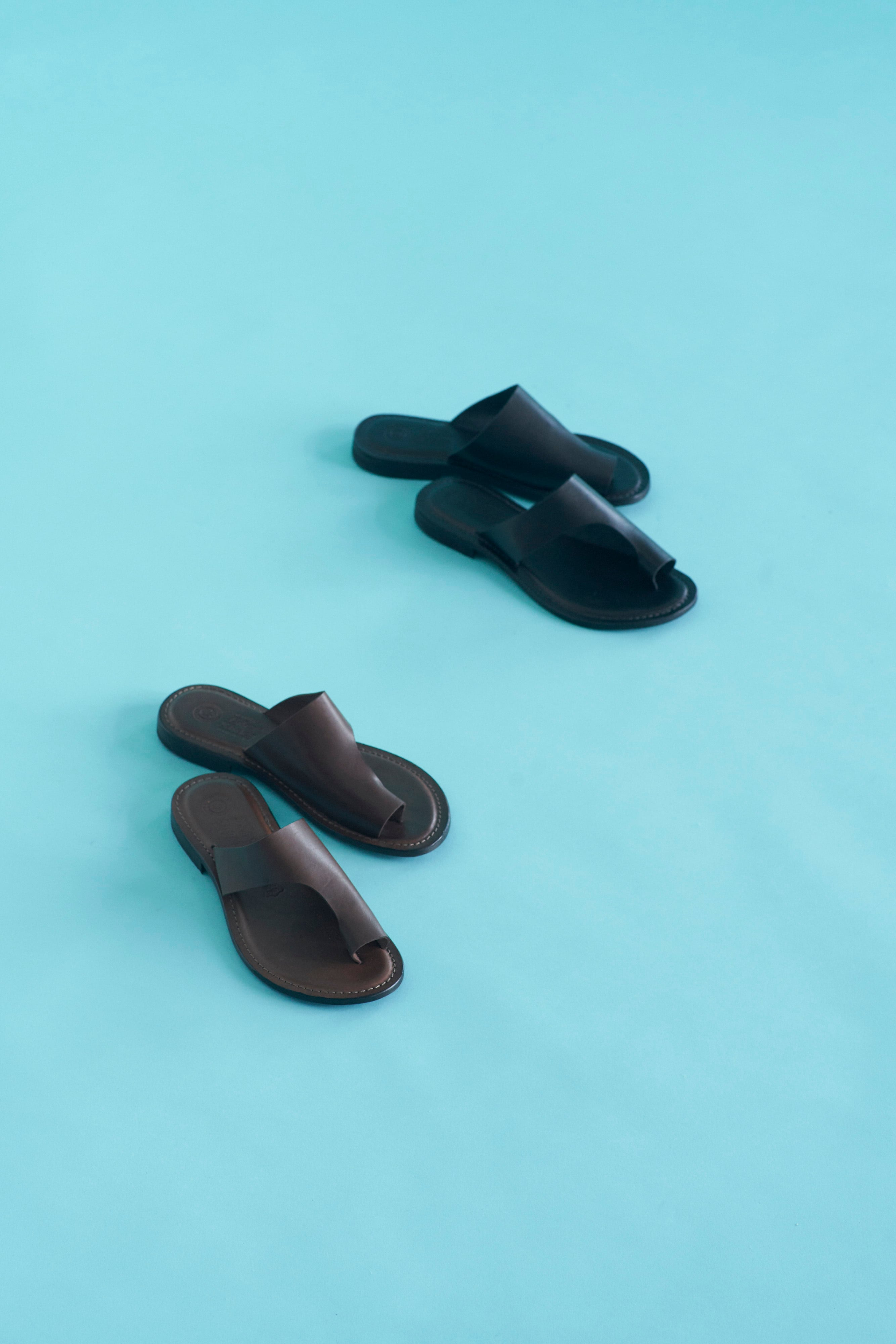 EDER SHOES leather sandal