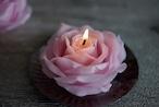 バラのキャンドル(色と香りが選べます) 001