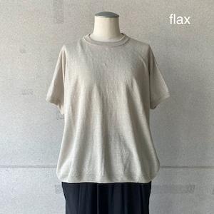 【evam eva】half sleeve pullover/E211K134