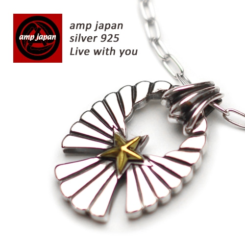 AMP JAPAN/アンプジャパン   スターライトイーグルネックレス 16ac-115