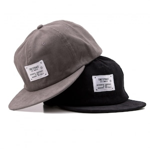 CORDUROY 6PANEL TAG CAP #GREY