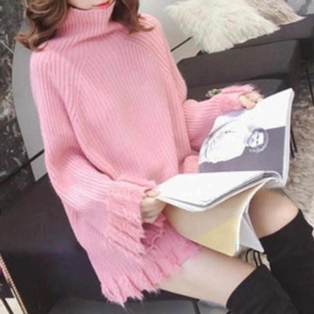 【トップス】気質アップファッション長袖ラウンドネックプルオーバーセーター53629211