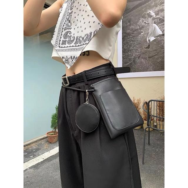 simple waist bag