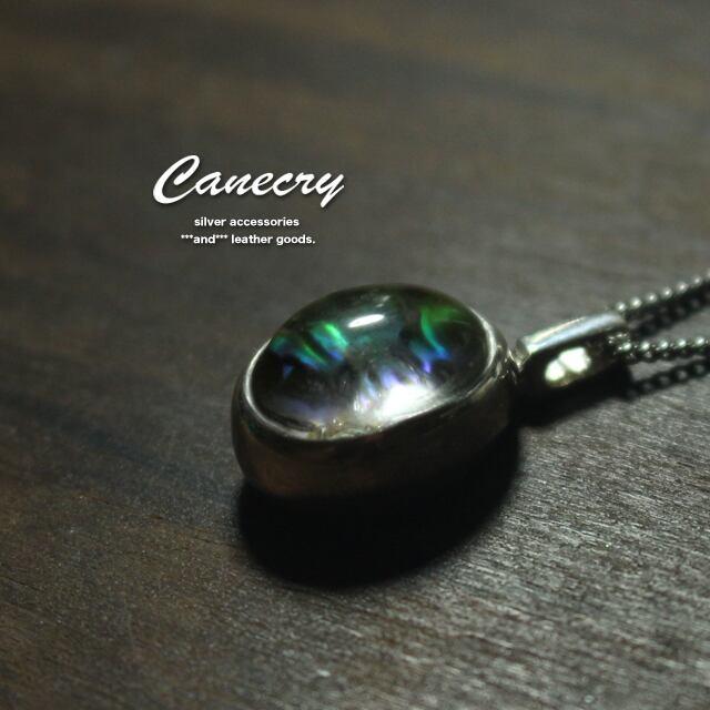 水晶とパウアシェルのネックレス