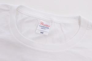 【レディス】シンプルポリドラスTシャツ(ホワイト)