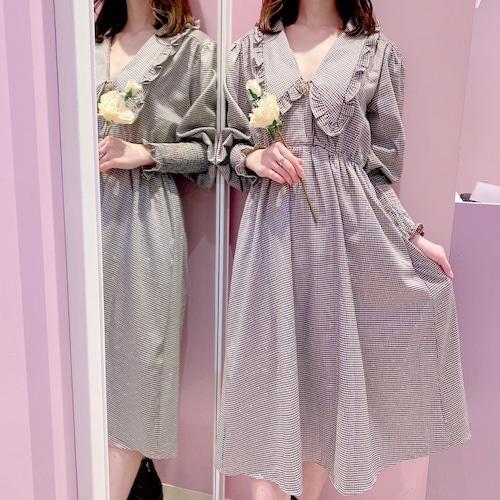 ♡送料無料♡【Sister Jane】Handkerchief Check Midi Dress