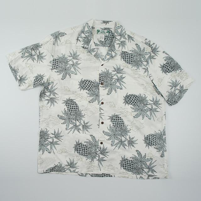 メンズ パイナップル マップ(ホワイト)サイズM~XL /M501R-Pineapple-Map WH