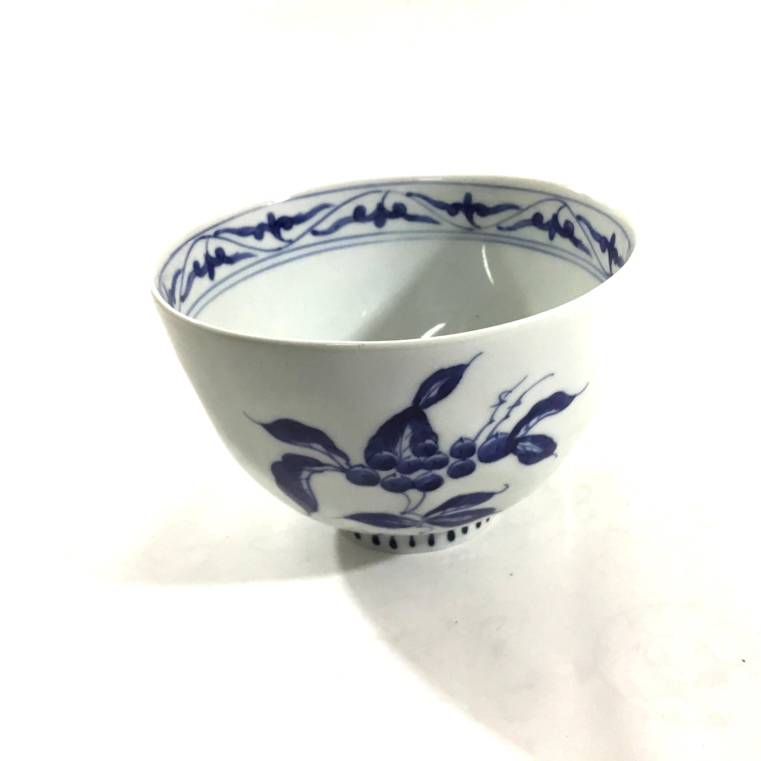 果実紋麺鉢