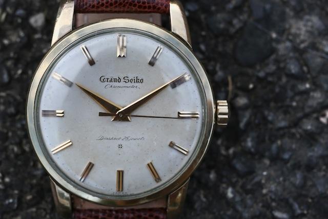【SEIKO】 1963 セイコー グランドセイコー ファーストモデル エイジングダイヤル 手巻き OH済み / Vintagewatch /Cal.3180