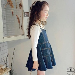 «sold out» flo cherish jumper skirt 2colors  チェリシュ ジャンパースカート