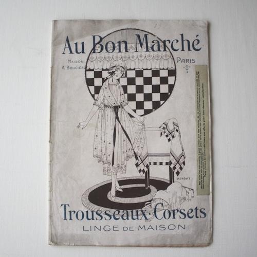 パリの百貨店 Au Bon Marché カタログ・フランスアンティーク / vp0021