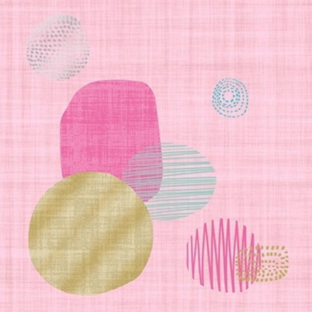 【Paperproducts Design】バラ売り2枚 ランチサイズ ペーパーナプキン Graphics on Linen ローズ