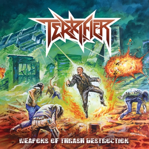 "TERRIFIER ""Wepons Of Thrash Destruction"""
