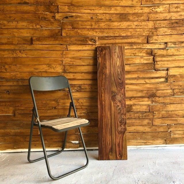 シーシャムウッド棚板 30×120×2.5cm