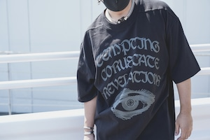 T.C.R GOD EYE BUFFALO S/S TEE  - exclusive -  BLACK