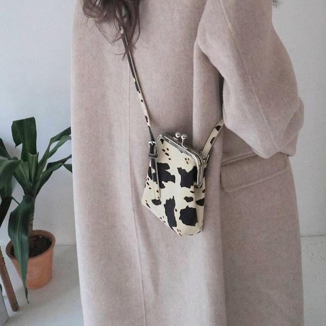 Mini bag cow pattern KRE 371
