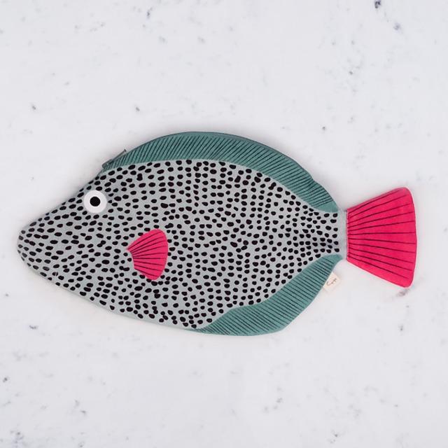 ドンフィッシャー(DONFISHER) - CASE【TRIGGER FISH】[ONE] ポーチ