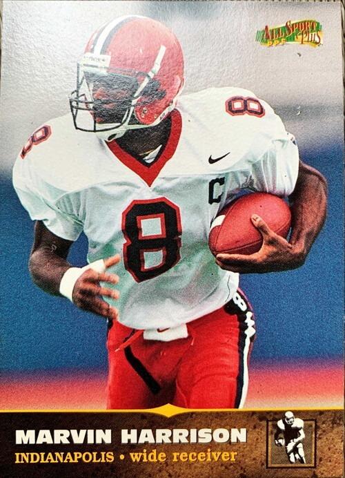 NFLカード 97SCORE MARVIN HARRISON #142 INDIANAPOLIS