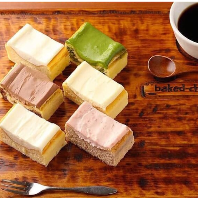 ベイクドチーズケーキ6種   アソートセット
