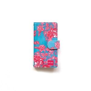 北欧デザイン iPhone手帳型ケース  | north blue