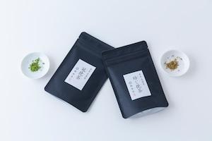 ーお料理やスイーツにも!ー 楠森堂|実生 在来種・冠挽茶と焙じ挽茶の2種セット