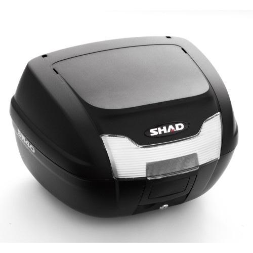 バイク リアボックス ハードケース SHAD SH40 リアボックス 無塗装ブラック