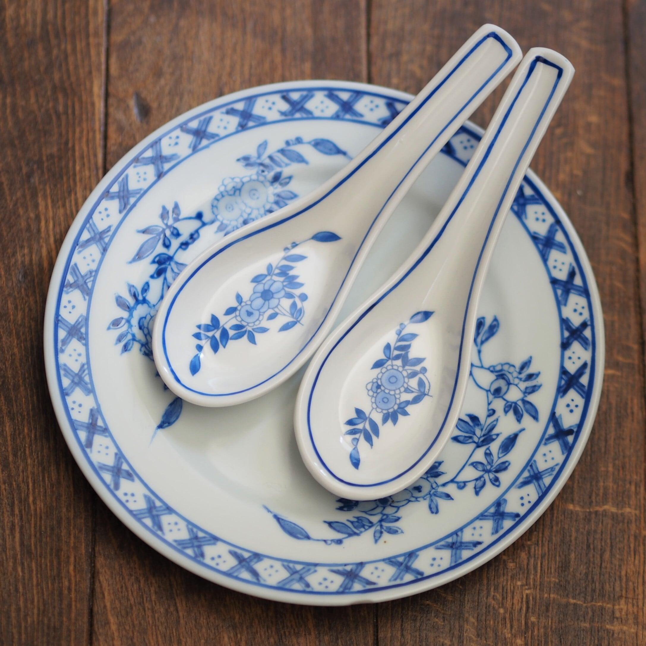 『ブルークレストのレンゲ』ペニンシュラ食器/香港