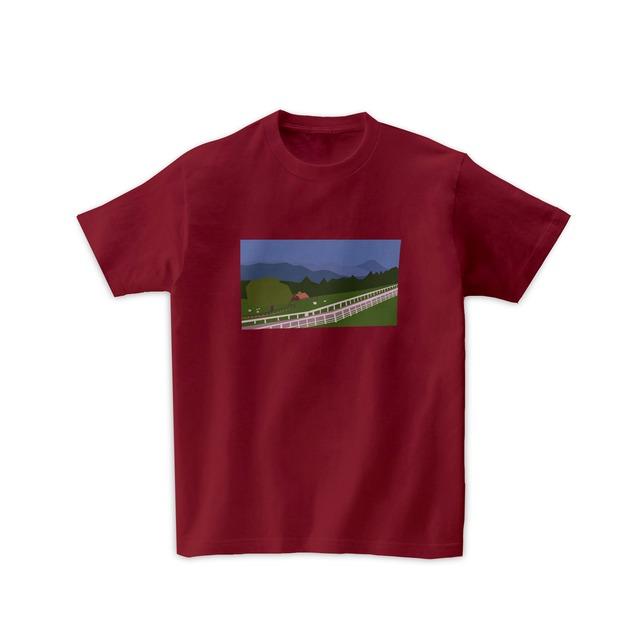 景色Tシャツ-高原
