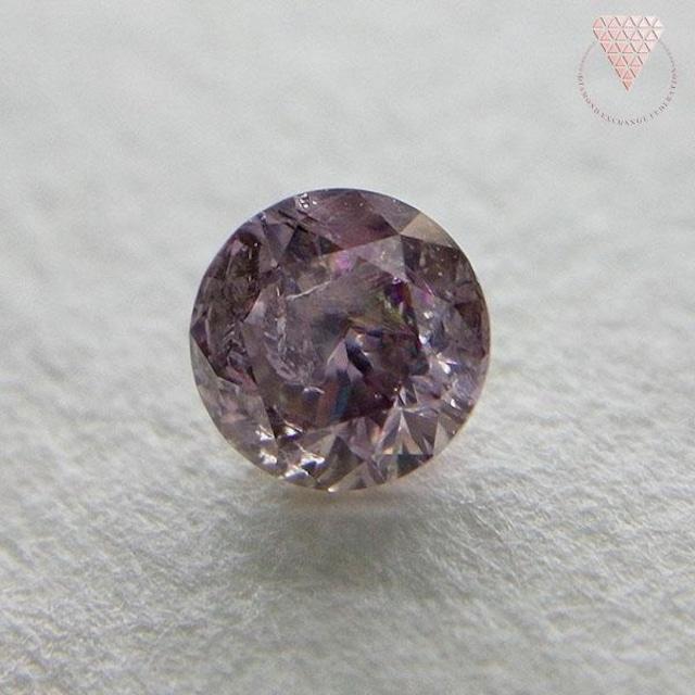 0.210 ct F.Dp B.Pur.Pink 天然 ピンク ダイヤモンド