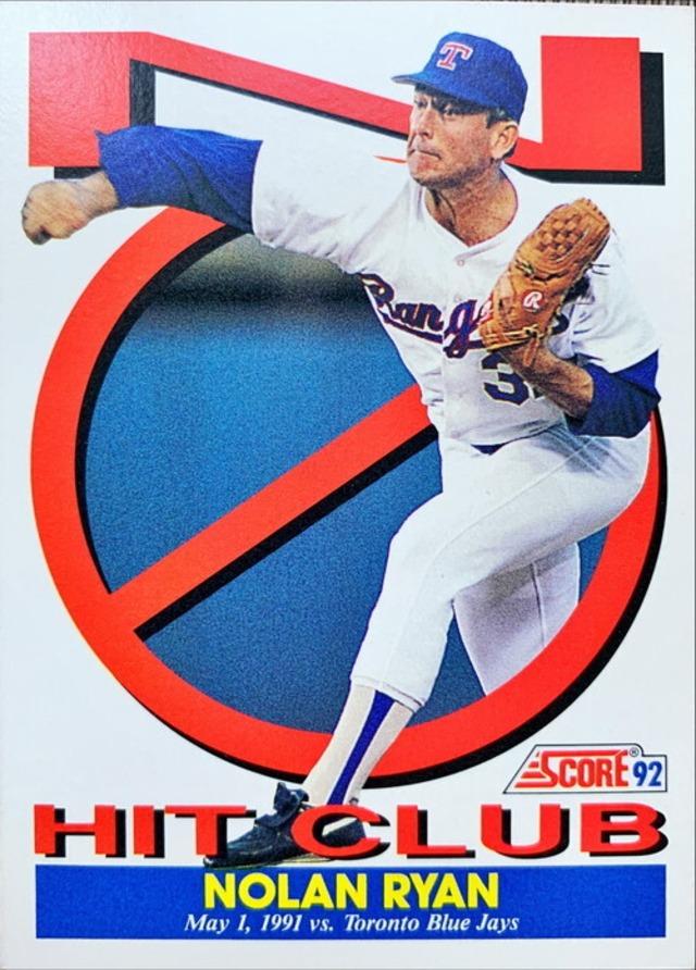 MLBカード 92MOTHER'S COOKIES  Nolan Ryan 5 of 8