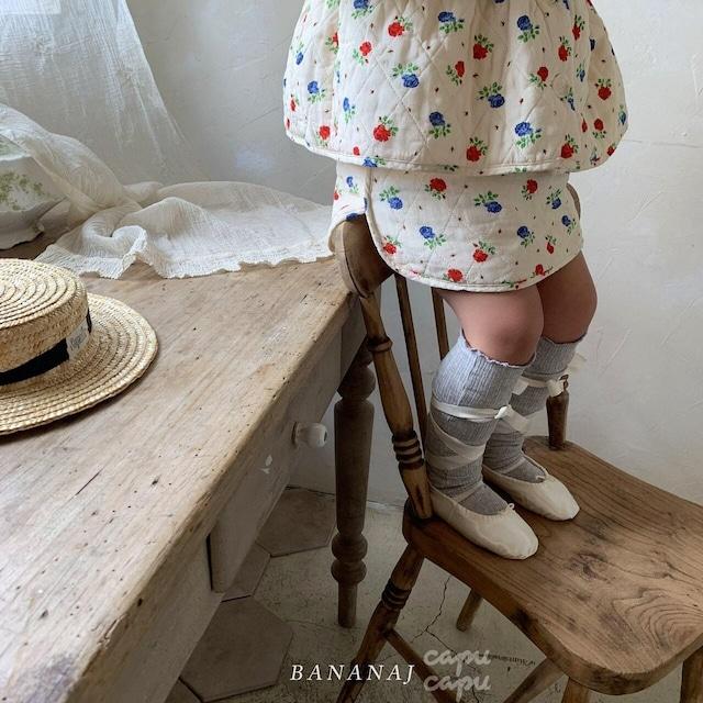 «即納»«ジュニアサイズ» banana j quilting skirt キルティング スカート