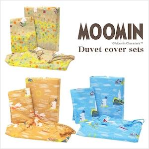 ムーミン(MOOMIN) 布団カバーセット(掛けカバー(SL)・枕カバー・収納袋)