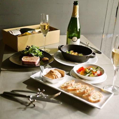 【送料無料】ロゼと鴨を楽しむセットBOX(フレンチ惣菜 テリーヌ ワイン)【冷蔵便】の商品画像10