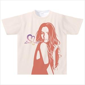 【受注発注商品】Love me? ドライTシャツ(ピンク) Sサイズ