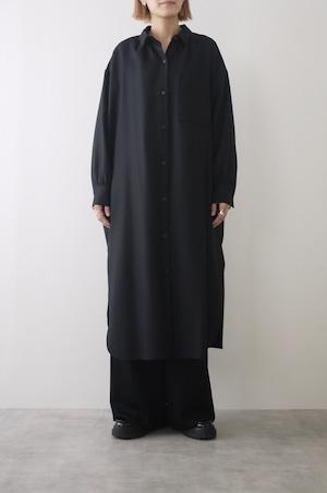 atelier naruse   wool saxony long shirt