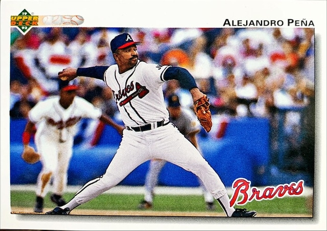 MLBカード 92UPPERDECK Alejandro Pena #694 BRAVES
