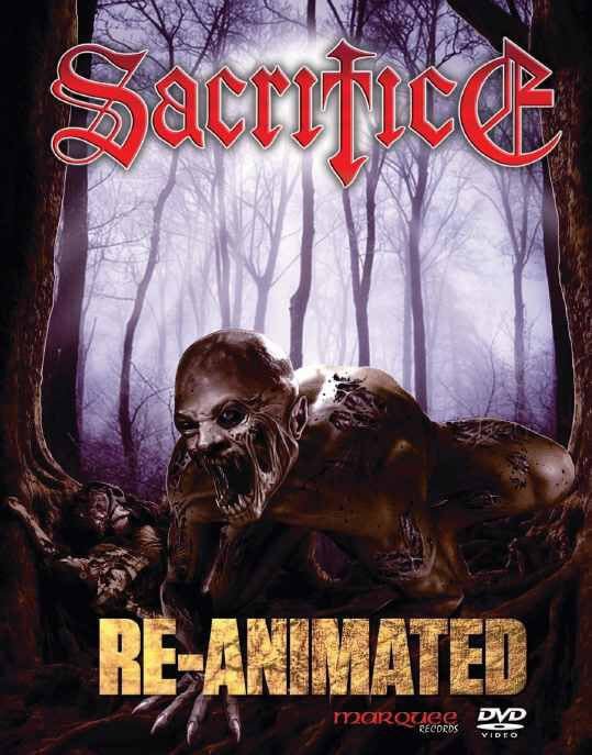 """SACRIFICE (Canada) """"Re-Animated"""" 2xDVD (輸入盤)"""