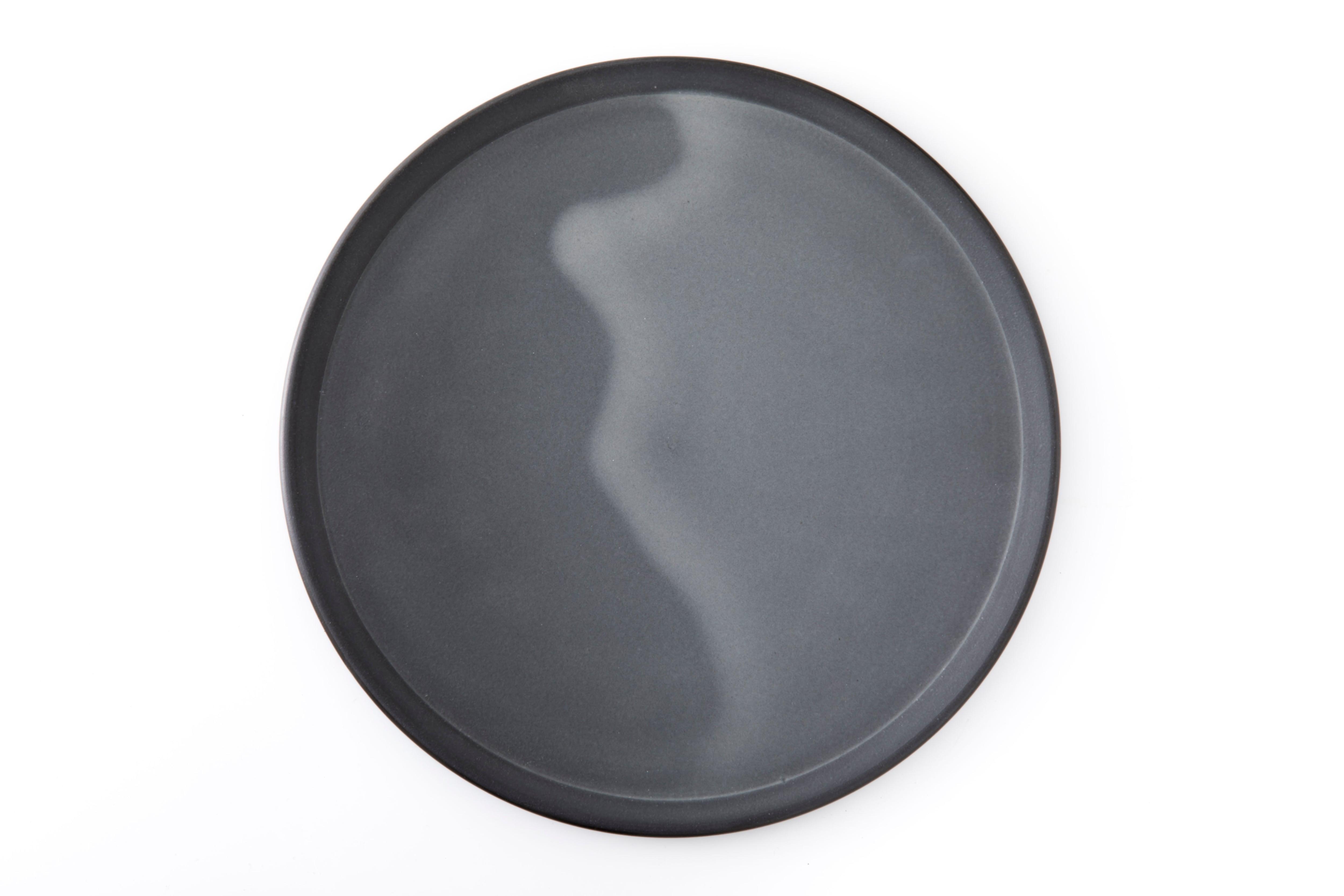 黒泥皿 : 9寸 / 3RD CERAMICS