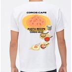 No.2020-welshcorgi-0028  : 5.6oz 2020 パスタレシピTシャツ トマトソースのカルボナーラ