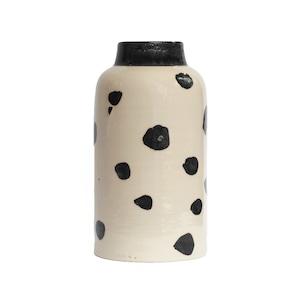 CANASA (カナサ) Flower vase (フラワーベース・花器) ドットベース L ①