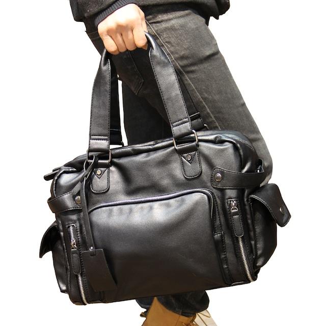 ショルダーバッグ 革 メンズ  メッセンジャーバッグ レザー 軽量 旅行 bag-164