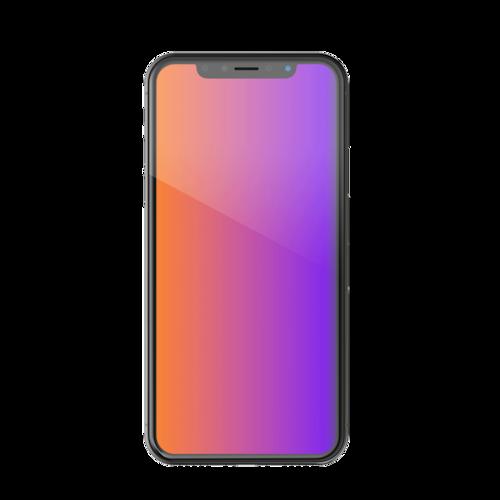 CS2 プライバシースクリーン for iPhone COLOR(カラーチェンジング)
