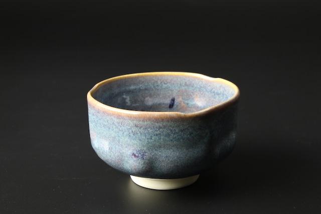 手捻り抹茶碗(鼠散らし) 清水焼